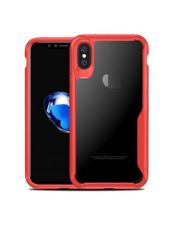 Apple iPhone XS Max Case Max Clear Red