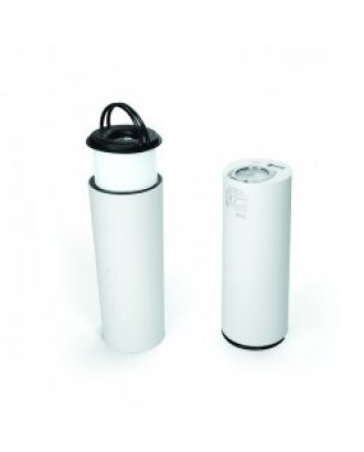 ENERGY GUARD TORCH WITH 5600 MAH  POWERBANK IN WHITE