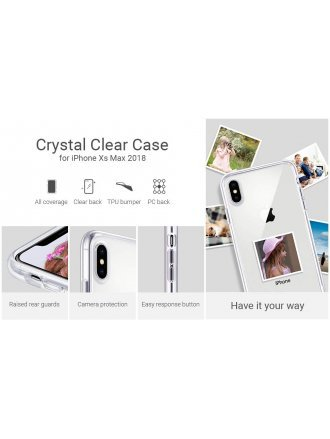 Apple iPhone XS Max Case Max Clear