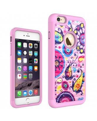 iPhone SE PRINTING DIAMOND CASE light pinkpink