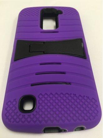 LG K7 CROSSWISE STAND  black purple