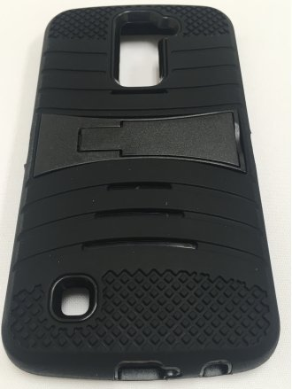 LG K10 CROSSWISE STAND black black