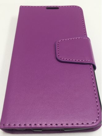Samsung Grand Prime G530 CZERNY WALLET Purple black