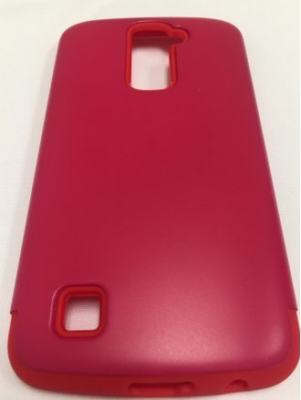 LG K10  ARMOR CASE  red red
