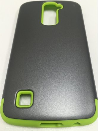 LG K7  ARMOR CASE gray green