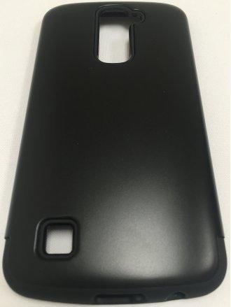 LG K10  ARMOR CASE black black