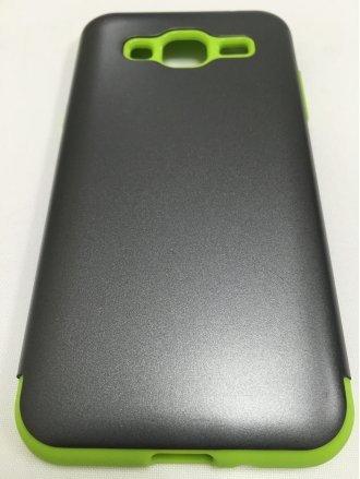 Samsung J7 2015  ARMOR CASE  gray green