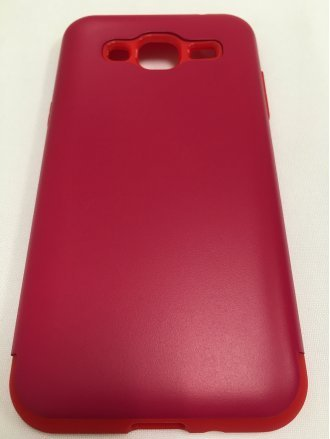 Samsung J7 2015  ARMOR CASE red red