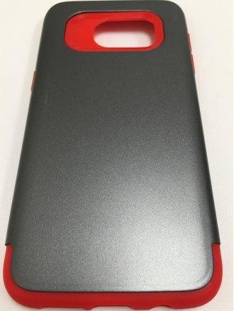 Samsung S7 Edge  ARMOR CASE gray red