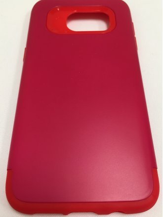 Samsung S7 Edge ARMOR CASE red red