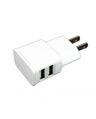 DUAL PORT USB WALL CHARGER 2.1 A