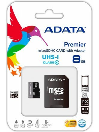 Adata Micro sd card 8GB