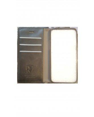iPhone 7 Plus Leather case black black  Folio Cas BK