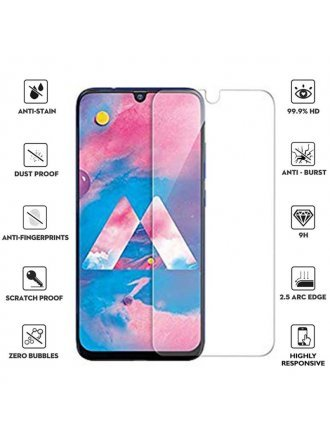 Samsung Galaxy A50 2.5D 0.3mm Clear Tempered Glass