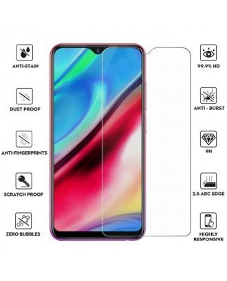Samsung Galaxy A30 2.5D 0.3mm Clear Tempered Glass