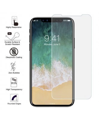 IPHONE X TEMPER GLASS CLEAR