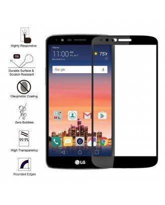 LG STYLO 3 CLEAR TEMPERED GLASS